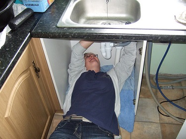 residential sink plumbing
