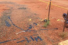 ground, excavation, measurement