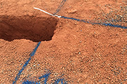 ground, excavation, hydro excavation